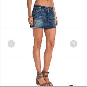 Anthropology Citizen of Humanity Denim Mini Skirt